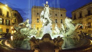 Ortigia piazza Archimede