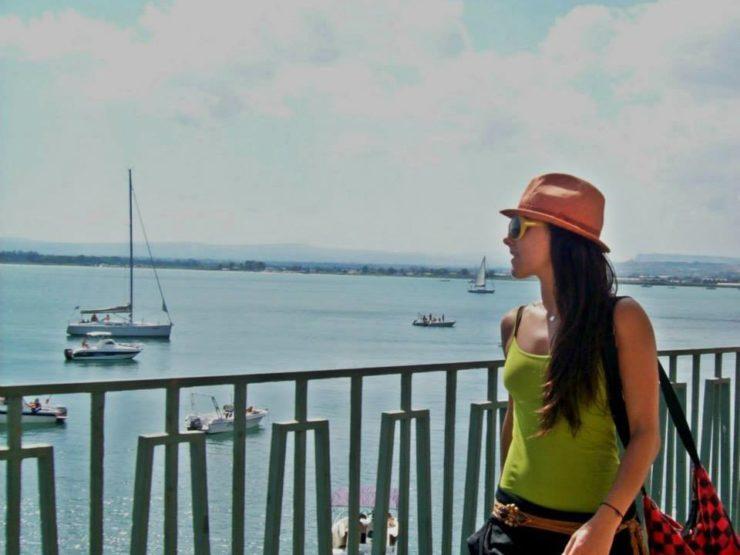 Siracusa il mare in città