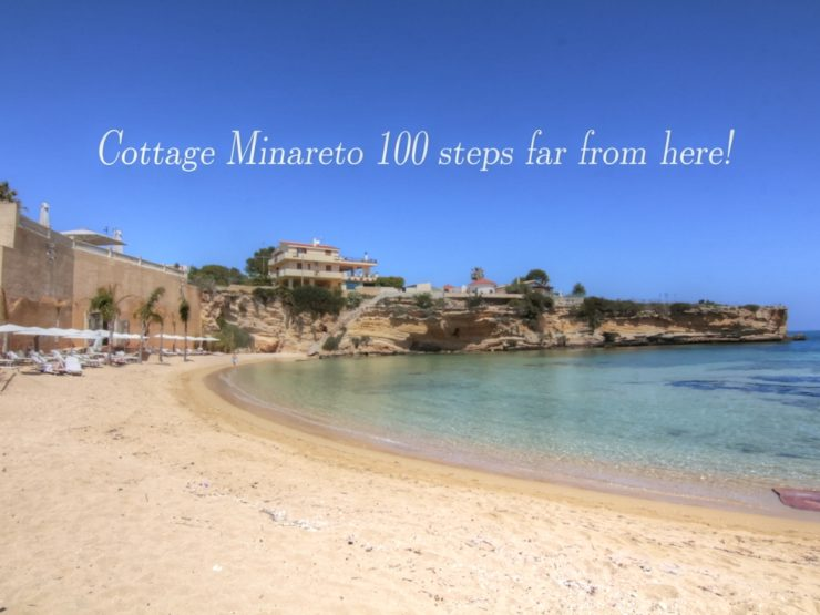 Cottage Minareto by feet to beach Syracuse