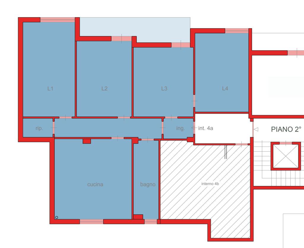 appartamento 4 locali 135mila euro