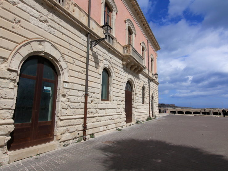 Ortigia commercial property with sea view