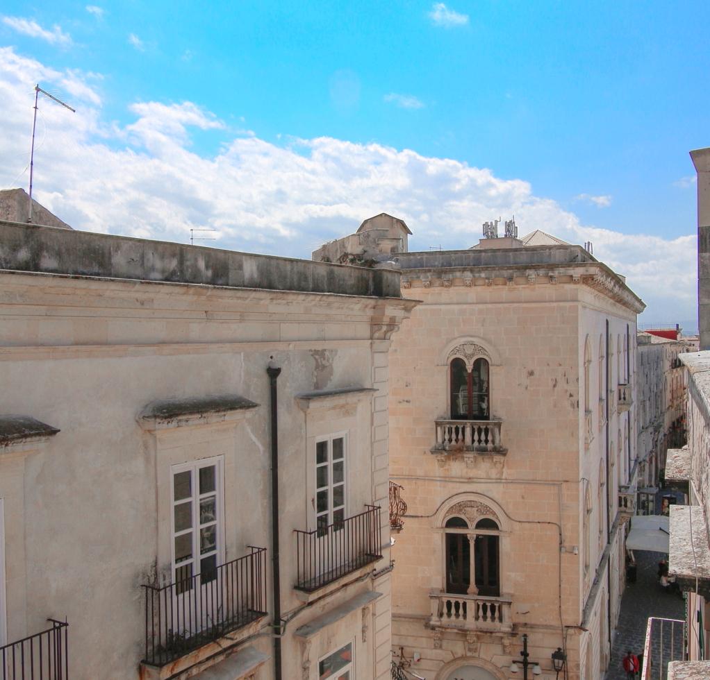Palazzo Doumontier Casa con terrazza