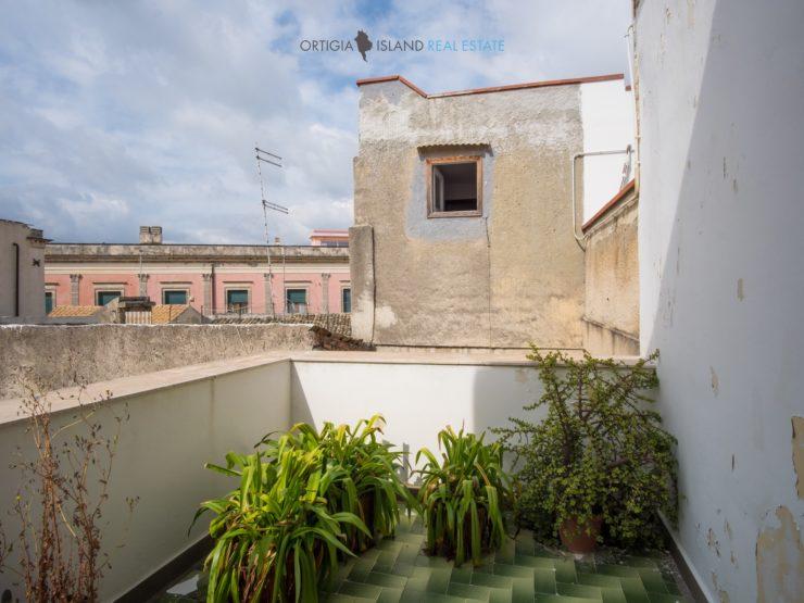 Ortigia casa novecentesca con terrazze