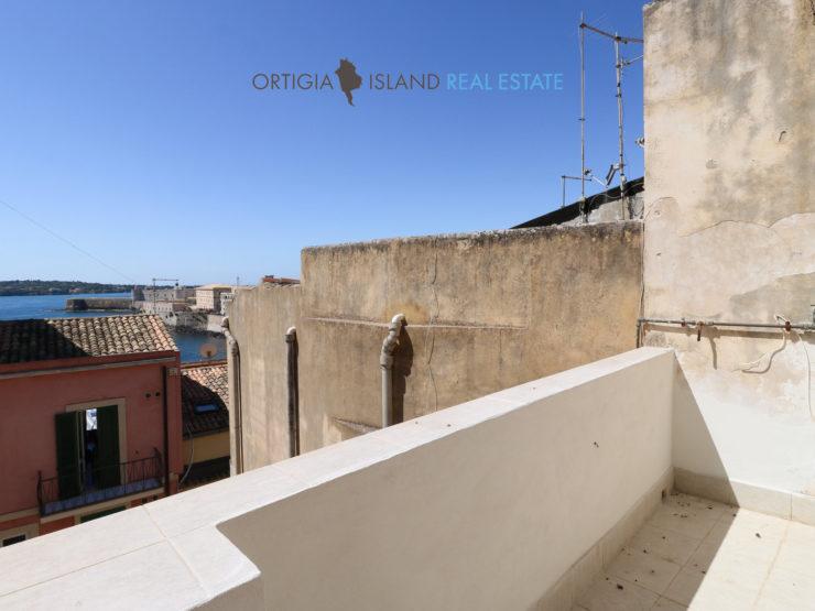 Appartamento con terrazza in Ortigia