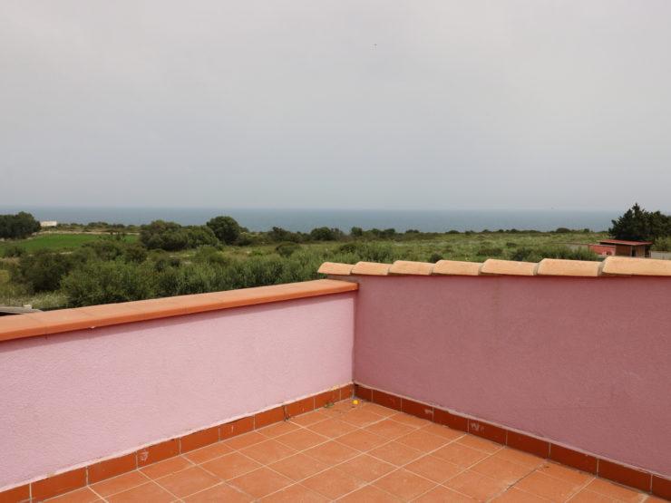 Plemmirio in vendita villa con terrazzo vista mare