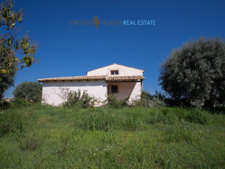 Siracusa Casa rurale con terreno