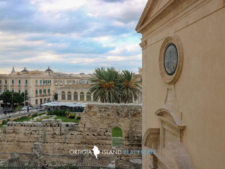 Ortigia Tempio di Apollo casa in affitto con terrazza