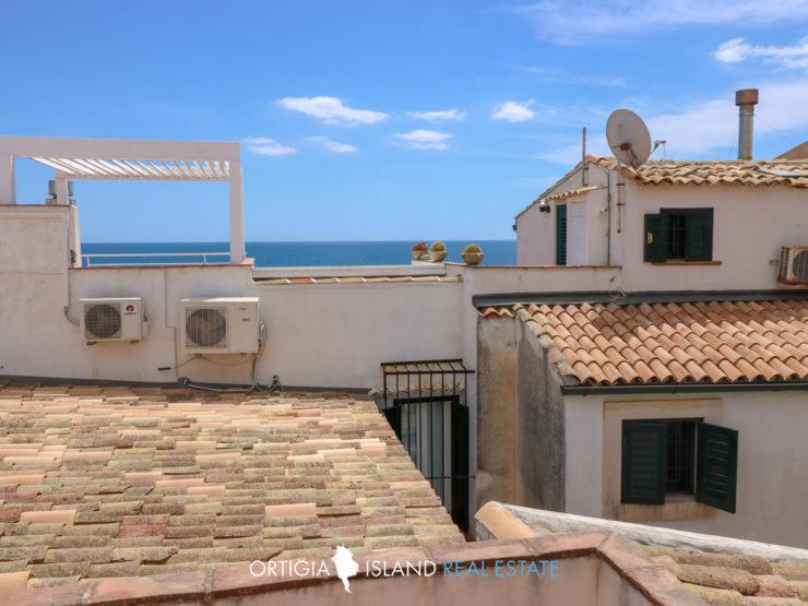 Ortigia Forte Vigliena appartamento con terrazze