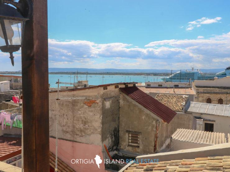Ortigia Marina Casa con terrazzo vista mare