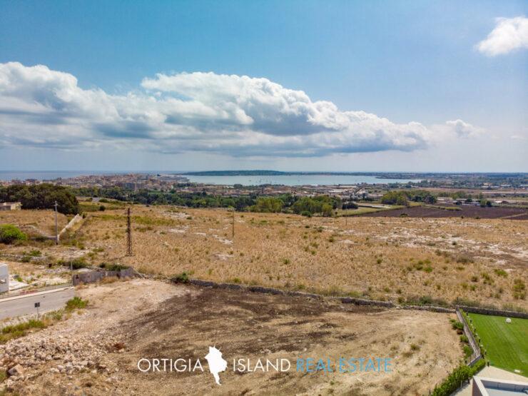 Siracusa Terreno Edificabile vista mare