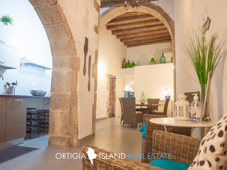 Casa terranea in affitto Ortigia