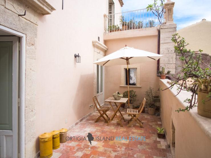 Dimora con terrazza in Ortigia