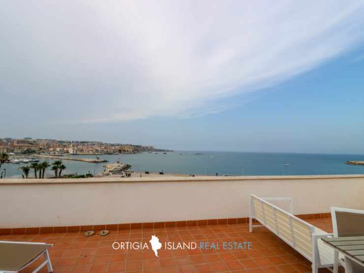Borea house with seaview in Ortygia