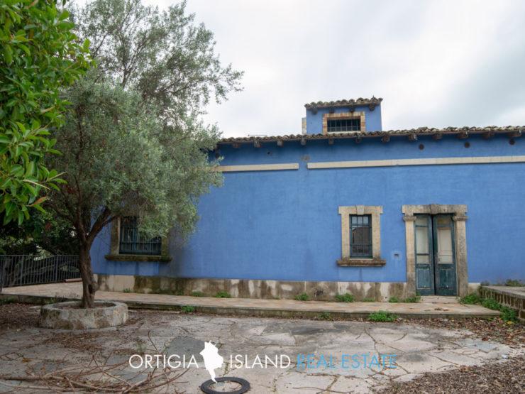 Contrada Cannarella Siracusa Villa primi '900 in vendita
