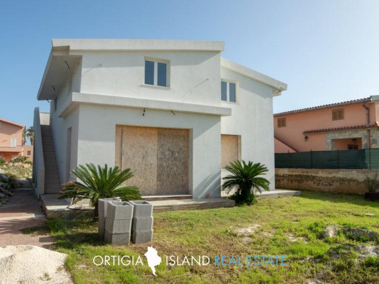 Plemmirio Villa con vista mare in vendita