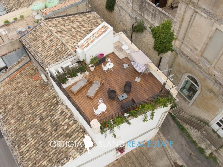 Una terrazza su Ragusa Ibla