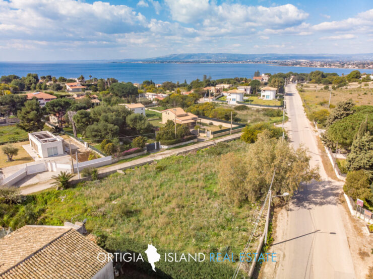 Plemmirio, building land for sale